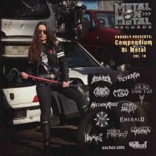 ARKHAM WITCH / ATTACKER / MELIAH RAGE - Compendium Of Metal Vol. 10