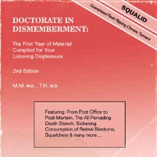 SQUALID - Doctorate In Dismemberment