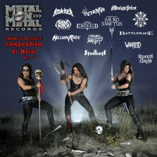 MELIAH RAGE / ARKHAM WITCH / OUTRAGE - Compendium Of Metal Vol. 11