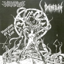 SULPHURHAZE / OMENFILTH - Veneration Of Cruel Lust