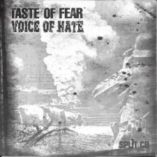 TASTE OF FEAR / VOICE OF HATE - Split