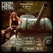 MELIAH RAGE / ARKHAM WITCH / OUTRAGE - Compendium Of Metal Vol. 8
