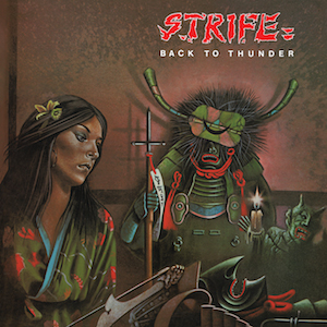 STRIFE - Back To Thunder