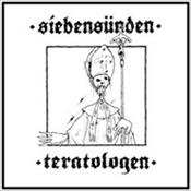 SIEBENSUNDEN / TERATOLOGEN - Glad Dig Du Kristi Luder / Herrens Djuriska Njutning