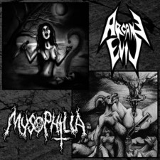 ARCANE EVIL / MYSOPHILIA - Split