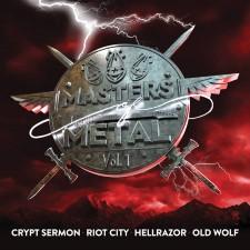 CRYPT SERMON / RIOT CITY / HELLRAZOR - Masters Of Metal: Volume 1