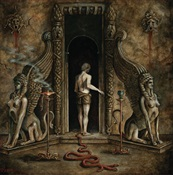 ALUK TODOLO / SATURNALIA TEMPLE / NIGHTBRINGER - On The Powers Of The Sphinx