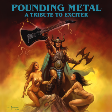 SAVAGE MASTER / IRONSWORD / EVIL INVADERS - Pounding Metal: A Tribute To Exciter