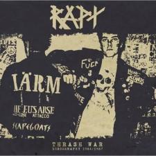 RAPT - Thrash War / Discography 1984-87