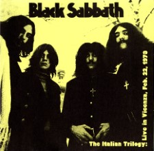 BLACK SABBATH - Live At Palasport, Vicenza, Italy, Feb. 22 1973
