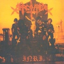 SARCOFAGO - Inri (Orange Cover)