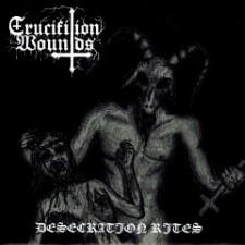 BLACK PRIEST OF SATAN / CRUCIFIXION WOUNDS - Split