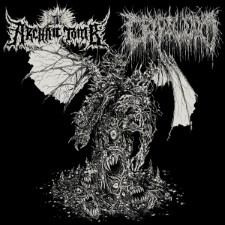 ARCHAIC TOMB / CRYPTWORM - Split