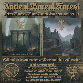 ANCIENT BOREAL FOREST - A Relic From The Sands Of Time / Where Dragons Dream