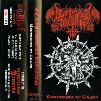 BLASPHEMOUS DIVISION - Regiments Of Chaos