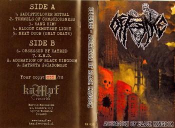 OFFENCE - Adoration Of Black Kingdom