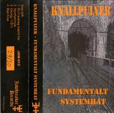 KNALLPULVER - Fundamentalt Systemhat