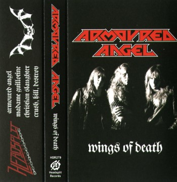 ARMOURED ANGEL - Wings Of Death / Communion
