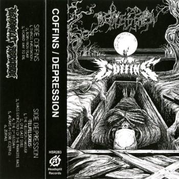 COFFINS / DEPRESSION - Split