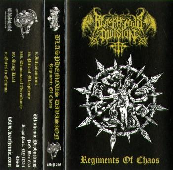 BLASPHEMOUS DIVISION - Regiments Of Chaos (Warhemic Prod.)