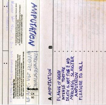 AMPUTATION - Live Verftet Thrash Fest Sept 29-30 1989