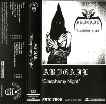 ABIGAIL - Blasphemy Night