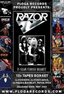 RAZOR - 35 Years Thrash Insanity