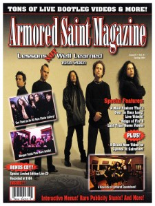ARMORED SAINT - Lessons Not Well Learned