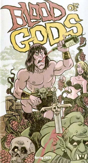 BLOOD OF GODS - Issue 1 Spring 2020