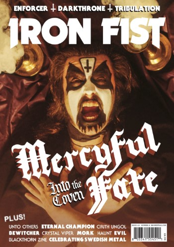 IRON FIST - Issue #24: Mercyful Fate, Unto Others, Eternal Champion, Cirith Ungol