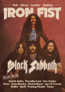 IRON FIST - Issue #22: Black Sabbath, Paradise Lost, Doro