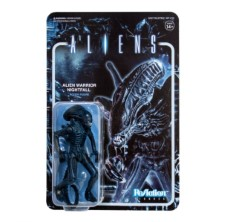 ALIENS REACTION FIGURE - Alien Warrior (Nightfall Blue)