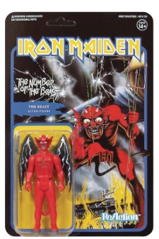 IRON MAIDEN - Reaction Figure: The Number Of The Beast