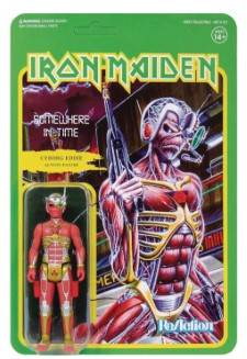 IRON MAIDEN - Reaction Figure: Somewhere In Time