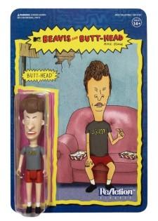 BEAVIS AND BUTT-HEAD REACTION FIGURE - Butt-Head