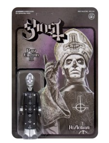 GHOST - Papa Emeritus Iii (Black Metal) Reaction Figure