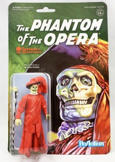 UNIVERSAL MONSTERS REACTION FIGURE - The Phantom Of The Opera As The Masque Of The Red Death
