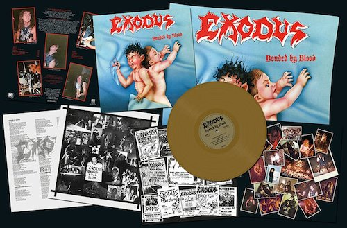"EXODUS - Bonded By Blood (12"" LP)"