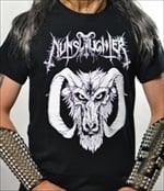 NUNSLAUGHTER - Satan Is Metal's Master (T-Shirt)