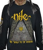 NILE - Unearthed Yellow/Gold Logo (2018 Tour)