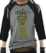 NILE - 2018 Tour (Raglan Grey/Black)