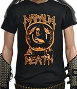 NAPALM DEATH - Scum (Orange Print)