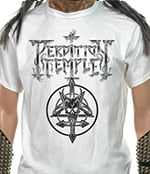 PERDITION TEMPLE - Inverted Cross Skull Logo
