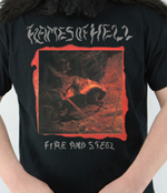 FLAMES OF HELL - Fire And Steel