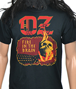OZ - Fire In The Brain (Retro Design)