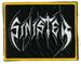 SINISTER - Yellow Border Logo