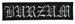BURZUM - Old Logo