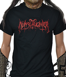 NUNSLAUGHTER - Logo
