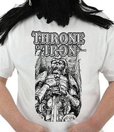 THRONE OF IRON - Casket Warrior