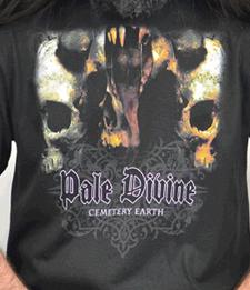 "PALE DIVINE ""Cemetery Earth"" [T-Shirt]"